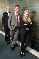 Senior Partner Andy Mattews (left) with Paul Simpson  and Charlotte Chapman from Gateley plc Nottingham Senior Partner Andy Matthews (left) with Paul Simpson and Charlotte Chapman from Gateley plc Nottingham