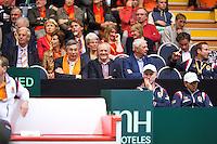 06-04-12, Netherlands, Amsterdam, Tennis, Daviscup, Netherlands-Rumania, Tom Okker(M)