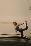 Gemma Farrell practicing yoga at sunrise by the lake at Omega Institute, in Rhinebeck, New York.  ..The photos is this gallery were taken by Todd Shapera and several participants in his photography workshop at Omega.   Each photographer is named in the file name, which can be seen by clicking on the image.