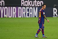 27th September 2020; Camp Nou, Barcelona, Catalonia, Spain; La Liga Football, Barcelona versus Villareal;  Leo Messi