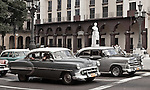 The predominance of classic cars from the 50's creates a timeless feeling in Havana, Cuba.