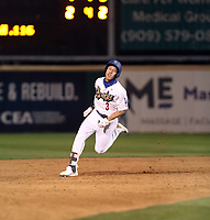Jeren Kendall - 2018 Rancho Cucamonga Quakes (Bill Mitchell)