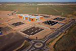 Hewlett-Packard (HP) project - Mariposa at Rio Rancho, NM - A High Desert Investment Corporation development; Designed by Dekker/Perich/Sabatini helicopter aerial