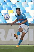 Hirving Lozano of SSC Napoli<br /> during the Serie A football match between SSC Napoli and Atalanta BC at stadio San Paolo in Napoli (Italy), October 17th, 2020. <br /> Photo Cesare Purini / Insidefoto