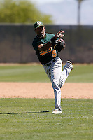 Michael Richard - Oakland Athletics - 2009 spring training.Photo by:  Bill Mitchell/Four Seam Images