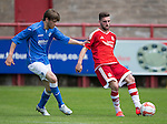 Aberdeen v St Johnstone...28.06.15  Glebe Park, Brechin..Pre-Season Friendly<br /> Graeme Shinnie and Murray Davidson<br /> Picture by Graeme Hart.<br /> Copyright Perthshire Picture Agency<br /> Tel: 01738 623350  Mobile: 07990 594431
