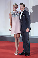 Kevin J. Walsh and guest attending The Last Duel Premiere as part of the 78th Venice International Film Festival in Venice, Italy on September 10, 2021. <br /> CAP/MPIIS<br /> ©MPIIS/Capital Pictures