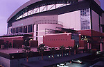 REAR VIEW OF BANK ONE BALLPARK IN PHOENIX