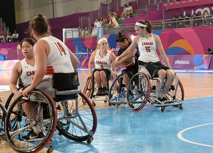 Danielle Duplessis, Lima 2019 - Wheelchair Basketball // Basketball en fauteuil roulant.<br />