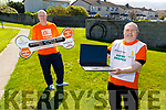 Tom Barrett (front left), Chairman of the Kerry Branch of Arthritis Ireland, standing with Ger Collins as they launch the National Arthritis Week which will be held from April 20th to the 26th and it will be done on line