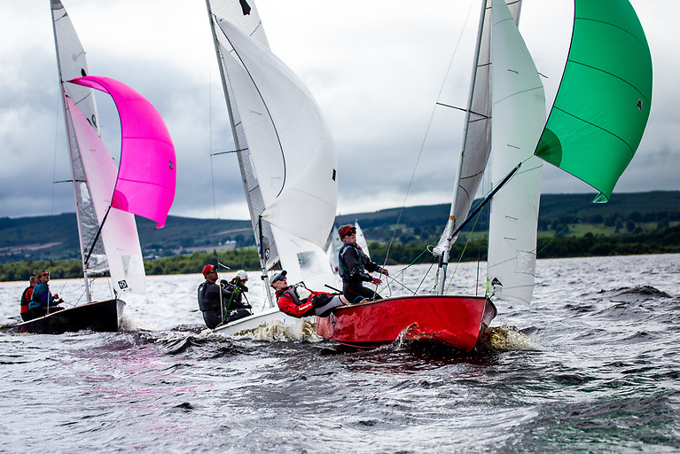 July's Skerries Regatta will feature a start for GP14 dinghies pictured above competing for Leinster honours in Blessington earlier this month