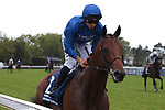 August 15, 2021, Deauville (France) - Victor Ludorum (2) with Mickael  Barzalona abroad at the Prix du Haras de Fresnay-Le-Buffard Jaques Le Marois (Gr I) at Deauville-La Touques Racecourse on August 15 in Deauville. [Copyright (c) Sandra Scherning/Eclipse Sportswire)]