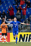 Ulsan Hyundai Midfielder Mislav Orsic celebrating his score during the AFC Champions League 2017 Group E match between Ulsan Hyundai FC (KOR) vs Brisbane Roar (AUS) at the Ulsan Munsu Football Stadium on 28 February 2017 in Ulsan, South Korea. Photo by Victor Fraile / Power Sport Images