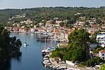 Greece, Ionian Islands, Paxos: Harbour of Gaios town | Griechenland, Ionische Inseln, Paxos, Gaios: Hafen