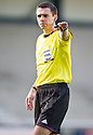 Referee Kevin Clancy ...