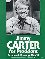 Campaign flyer for Democratic Party presidential primary