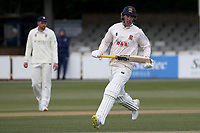 Dan Lawrence in batting action for Essex during Essex CCC vs Durham CCC, LV Insurance County Championship Group 1 Cricket at The Cloudfm County Ground on 16th April 2021