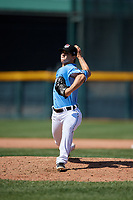 Erie SeaWolves pitcher Joe Navilhon (21) during an Eastern League game against the Akron RubberDucks on June 2, 2019 at UPMC Park in Erie, Pennsylvania.  Erie defeated Akron 8-5 in eleven innings in the second game of a doubleheader.  (Mike Janes/Four Seam Images)