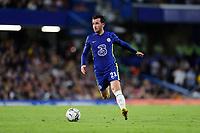 22nd September 2021; Stamford Bridge, Chelsea, London, England; EFL Cup football, Chelsea versus Aston Villa; Ben Chilwell of Chelsea