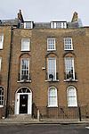 Canonbury Square London N1 Typical Georgian four story and basement terrace houses  London borough of Islington 2008 2000s UK