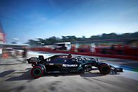 31st October 2020, Imola, Italy; FIA Formula 1 Grand Prix Emilia Romagna, Qualifying;  44 Lewis Hamilton GBR, Mercedes-AMG Petronas Formula One Team