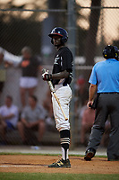 Deion Walker during the WWBA World Championship at the Roger Dean Complex on October 19, 2018 in Jupiter, Florida.  Deion Walker is an outfielder from Marietta, Georgia who attends Hillgrove High School.  (Mike Janes/Four Seam Images)