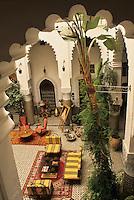 """View from Room """"El-Khili"""", Dar El-Ghalia, Fez, Morocco.  824_30"""