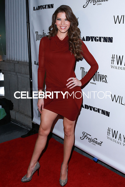 LOS ANGELES, CA, USA - DECEMBER 14: Adrienne Janic arrives at the Wayke Up Fundraiser presented by Wildfox and Ladygunn Magazine hosted by Nikki Reed held at the Sofitel Hotel on December 14, 2014 in Los Angeles, California, United States. (Photo by David Acosta/Celebrity Monitor)