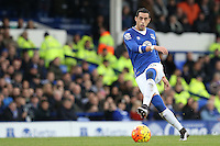 Ramiro Funes Mori during the Barclays Premier League match between Everton and Swansea City played at Goodison Park, Liverpool