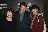 Jane BIRKIN - Lou DOILLON - Ouverture de la retrospective Jane Birkin - La Cinematheque francaise 25 janvier 2017 - Paris - France