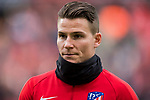 Kevin Gameiro of Atletico de Madrid looks on prior to the La Liga 2017-18 match between Atletico de Madrid and Girona FC at Wanda Metropolitano on 20 January 2018 in Madrid, Spain. Photo by Diego Gonzalez / Power Sport Images