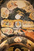 Europe/Turquie/Istanbul : Fresques du paraclésion  de l'église Saint-Sauveur, Musée Kariye, Ancienne  église Saint-Sauveur, la descente aux Enfers ou Anastasis