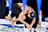 Sophie Pascoe of NZL competes in para-sport 200 meter individual medley SM10 inal during Commonwealth Games Swimming, Tuesday, July 29, 2014 in Glasgow, United Kingdom. (Mo Khursheed/TFV Media via AP Images)