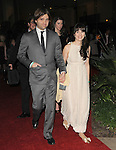 Zooey Deschanel and husband Ben Gibbard leaving The 68th Annual Golden Globe Awards held at The Beverly Hilton Hotel in Beverly Hills, California on January 16,2011                                                                               © 2010 DVS / Hollywood Press Agency