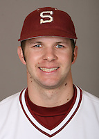 STANFORD, CA - JANUARY 7:  Kyle Thompson of the Stanford Cardinal baseball team poses for a headshot on January 7, 2009 in Stanford, California.