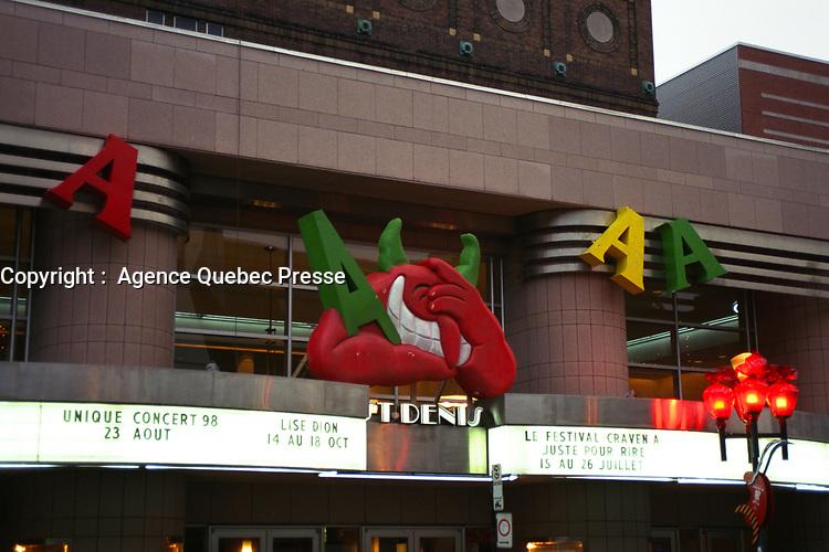 Theatre St-Denis,<br /> Juste Pour Rire 1998