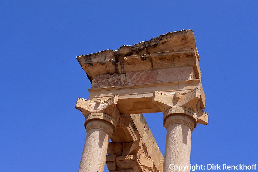 Zypern (Süd), Tempel Apollo Hylates in Kourion