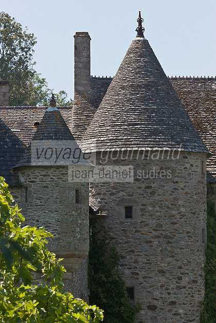 Europe/France/Normandie/Basse-Normandie/50/Manche/Presqu'île de la Hague/Urville-Nacqueville: Manoir de Dur Ecu