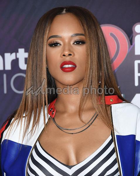 11 March 2018 - Inglewood, California - Serayah. 2018 iHeart Radio Awards held at The Forum. Photo Credit: Birdie Thompson/AdMedia