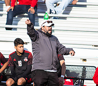 DJ Beeler head soccer coach for Springdale.<br /> against Bentonville at Jarrell Williams Bulldog Stadium, Springdale, Arkansas, on Wednesday, April 7, 2021 / Special to NWA Democrat Gazette