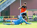 Dundee Utd's Nadir Ciftci (7) scores their first goal.