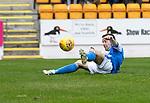 St Johnstone v Hamilton Accies…23.09.17…  McDiarmid Park… SPFL<br />Steven MacLean scores saints first goal<br />Picture by Graeme Hart. <br />Copyright Perthshire Picture Agency<br />Tel: 01738 623350  Mobile: 07990 594431