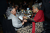 Toni Morrison and Maya Angelou,winner of the 2013 Literarian Award  attend the 2013 National Book Awards Dinner and Ceremony on November 20, 2013 at Cipriani Wall Street in New York City.