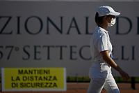 A judge wearing a mask<br /> <br /> Roma 11/08/2020 Foro Italico <br /> FIN 57 Trofeo Sette Colli 2020 Internazionali d'Italia<br /> Photo Andrea Staccioli/DBM/Insidefoto
