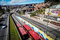 BOGOTA - COLOMBIA, 01-01-2019: Se respira tranquilidad en la ciudad de Bogota despues de la despedida del año 2018  / It breathes tranquility in the city of Bogota after the farewell of 2018. Photo: VizzorImage / Diego Cuevas / Cont