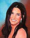 Sandra Bullock in smiling portrait.
