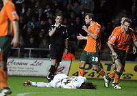 Pictured: Jordi Gómez of Swansea City <br /> <br /> Picture by D Legakis / Athena Picture Agency, Swansea, 07815441513