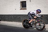 Lisa Klein (DEU/Canyon SRAM Racing)<br /> <br /> 88th UCI Road World Championships 2021 – ITT (WC)<br /> Women Elite Time trial from Knokke-Heist to Brugge (30.3km)<br /> <br /> ©Kramon