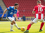 St Johnstone v East Fife…14.07.18…  McDiarmid Park    League Cup<br />Drey Wright takes on Daryl Megat<br />Picture by Graeme Hart. <br />Copyright Perthshire Picture Agency<br />Tel: 01738 623350  Mobile: 07990 594431