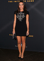 LOS ANGELES, CA, USA - NOVEMBER 10: Elodie Bouchez arrives at the Los Angeles Screening Of The Weinstein Company's 'The Imitation Game' held at the Directors Guild of America Theatre on November 10, 2014 in Los Angeles, California, United States. (Photo by Celebrity Monitor)